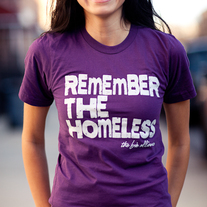 Remember the Homeless T-Shirt