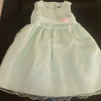 Green Lace Dress Size 3T