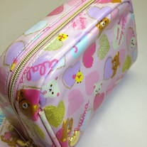 Rilakkuma Hearts Cosmetic Pouch [CT-22301]