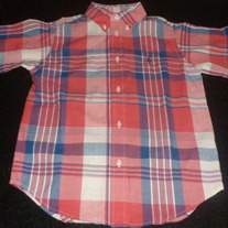 Red/Blue Plaid Shirt-Polo Ralph Lauren Size 6