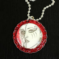 Kimberly Portrait Decay Necklace