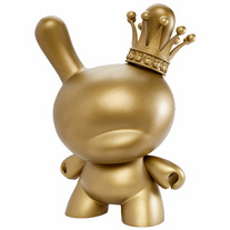 Gold King 20-inch Dunny by Tristan Eaton