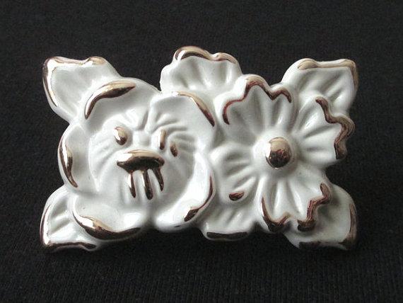 Knobs Dresser Knob Drawer Knobs Pull Handle Cream White