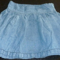 Denim Skirt-Abercrombie Size 8