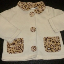 Animal Print Coat-Beluga New York Size 18 Months