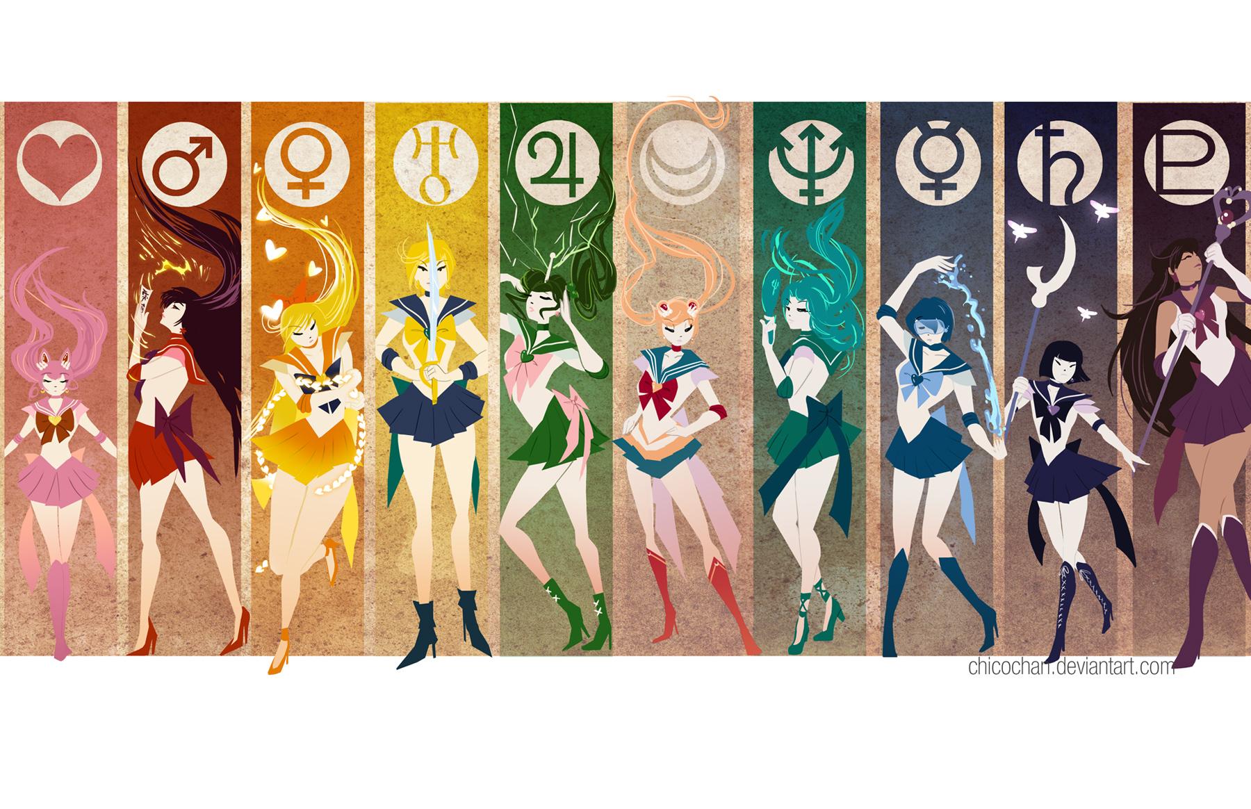 Uncategorized Sailor Moon Online the royal arcade sailor senshi simplify poster online store art anime moon