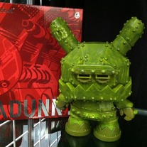 Mecha Dunny (Green) by Frank Kozik