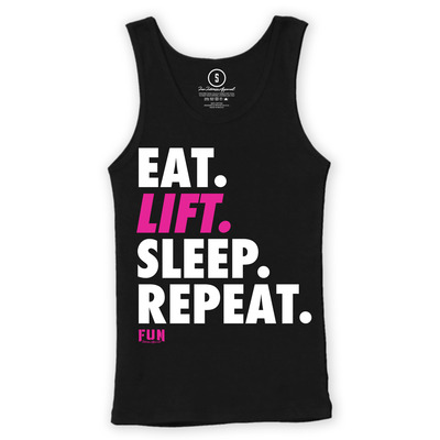 Women's eat lift sleep