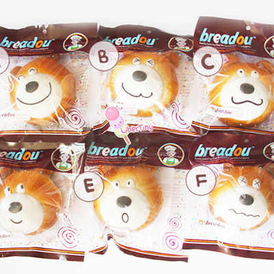 Breadou goody murphy jumbo squishy bear - Thumbnail 2