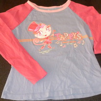 Tappy's Dance Studio LS Shirt-Children's Place Size 10/12