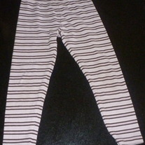 Pink/Brown Leggings-Gymboree Size 4