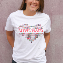 """Love Haiti"" - White"