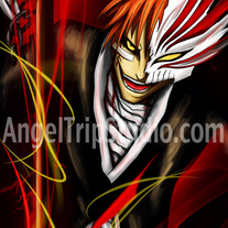 Ichigo from Bleach, Framed