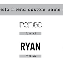 Custom Name Stamp - Thumbnail 3
