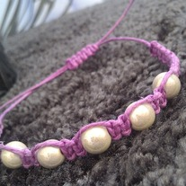 Purple Shamballa