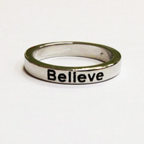 Believe Ring - Silver
