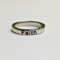 Faith Ring - Silver