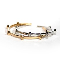 Rose Gold Skull Bangle - Thumbnail 1