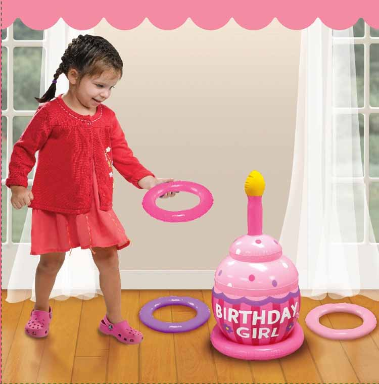 Inflatable Kids Birthday Chair: Trolley