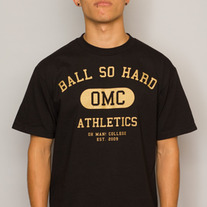 The Ball So Hard Tee in Black