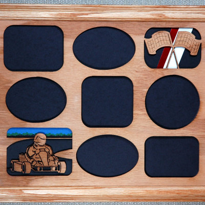 go kart picture frame and mat 11x14 thumbnail 3