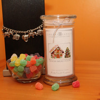 Gingerbread House Jewelry Candle