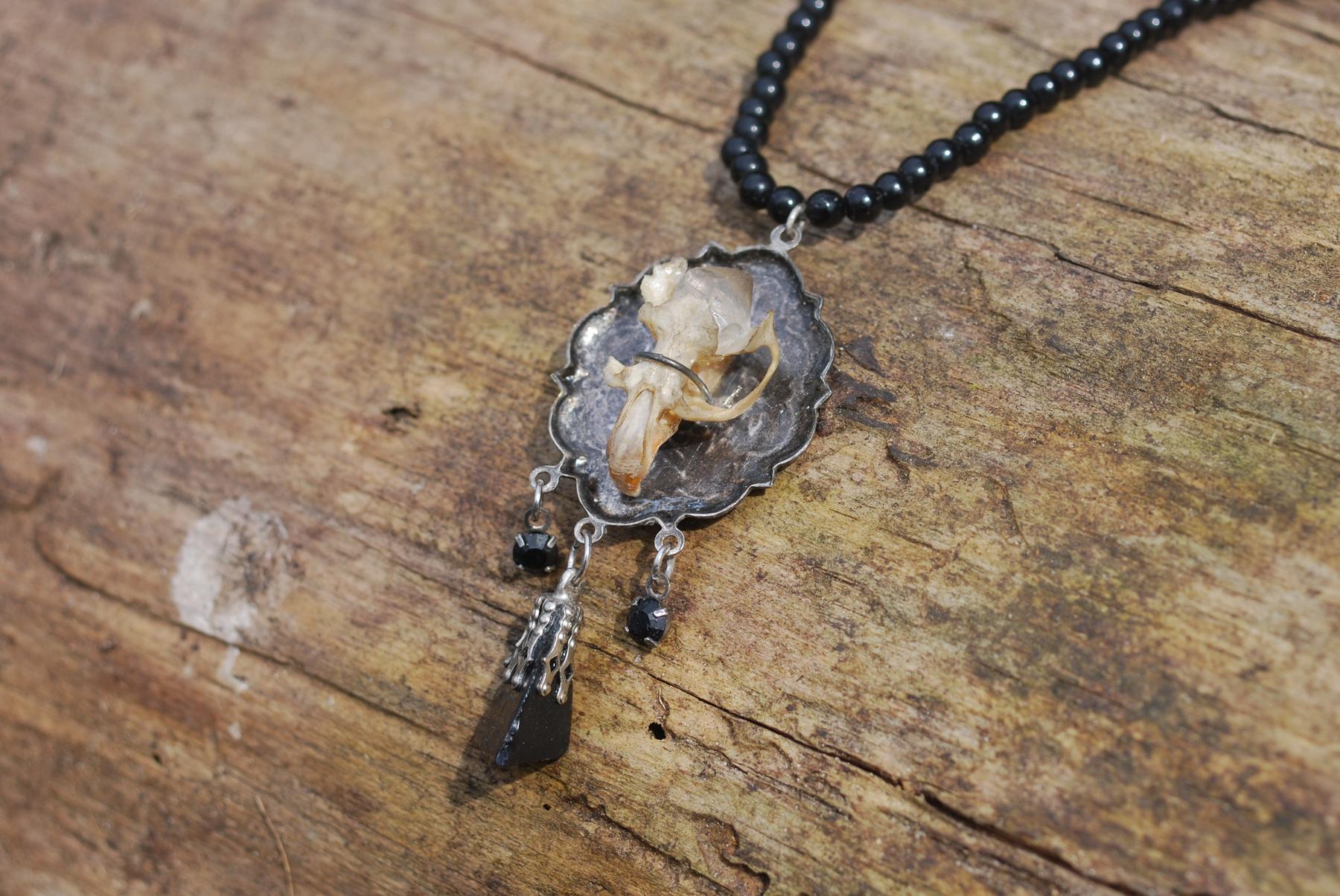 Brains Skull Brain Rat Skull Necklace