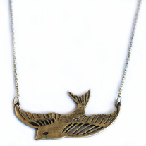 Sparrow Bird Necklace