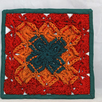 Mixed Media Potholder
