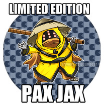 Limited Edition - PAX JAX button