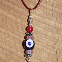 Pink Blood Sparkle Pendant