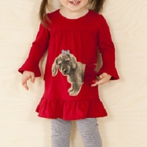 Le Top Dachshund Tunic w/leggings