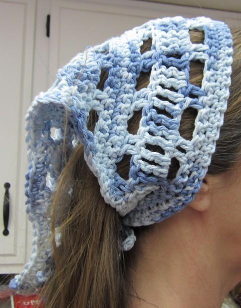Crochet Hair Online : Crochet Hair Kerchief/Bandana/Head Scarf in Various Colors ...