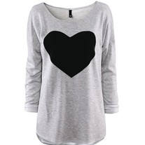 Sweet heart print t-shirt