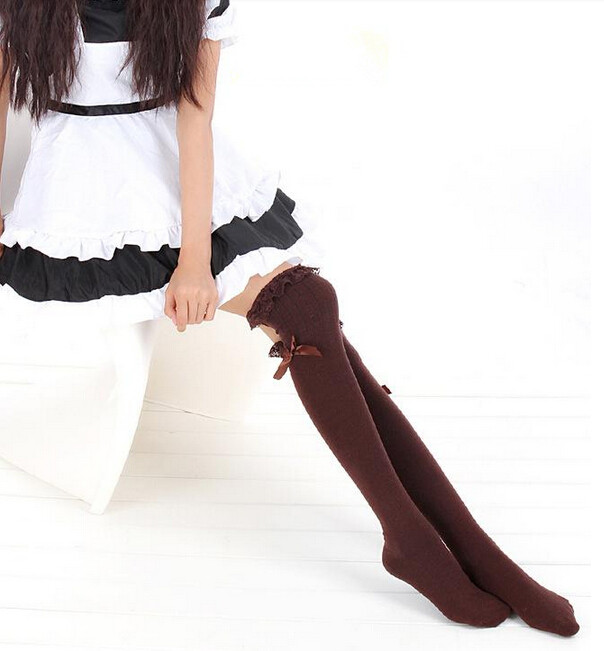 Cute Women Fashion Bow Stockings Asian Fashion Stocks On