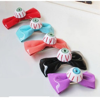 Pvc eyeball hairclip (pair)