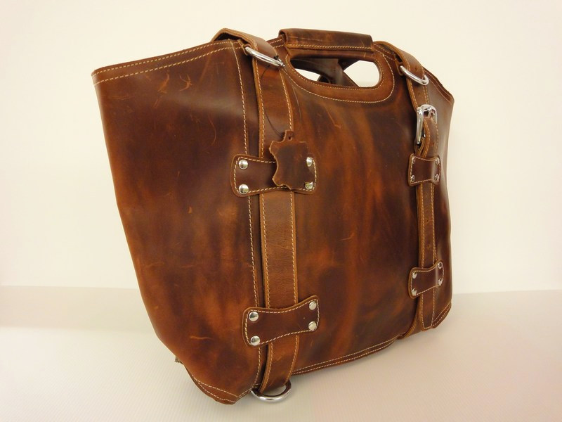 Dove Road Large Leather Bag - Full Grain · Old School Leather Bags ... 85b3dca33c