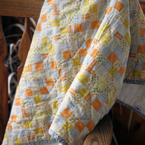Wholecloth Baby Quilt
