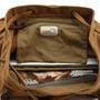 Camping canvas duffle backpacks | bucket laptop pack - Thumbnail 3