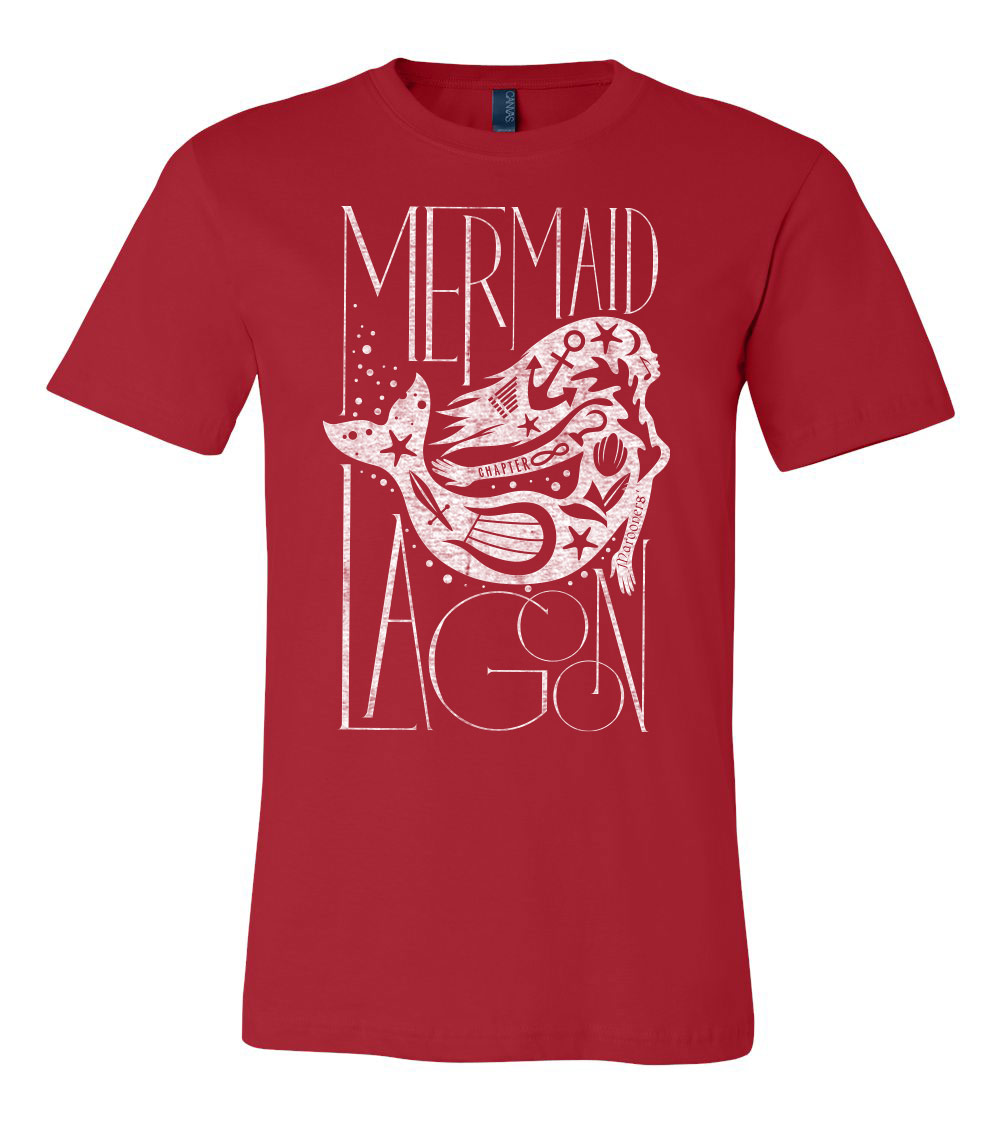 Unisex Colors Mermaid Lagoon T Shirt New Peter Wendy