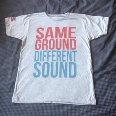 Same ground, different sound t-shirt