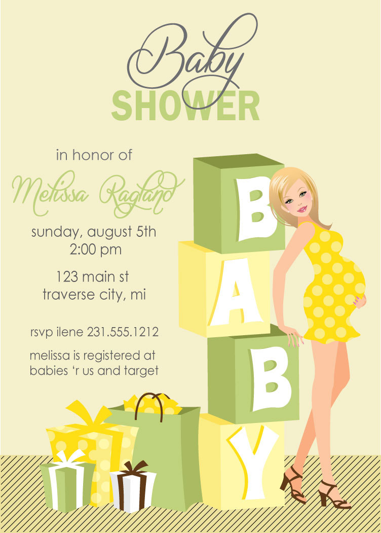 Blocks baby shower invitations gender neutral baby shower invites blocks baby shower invitations gender neutral baby shower invites also available in african american filmwisefo Image collections