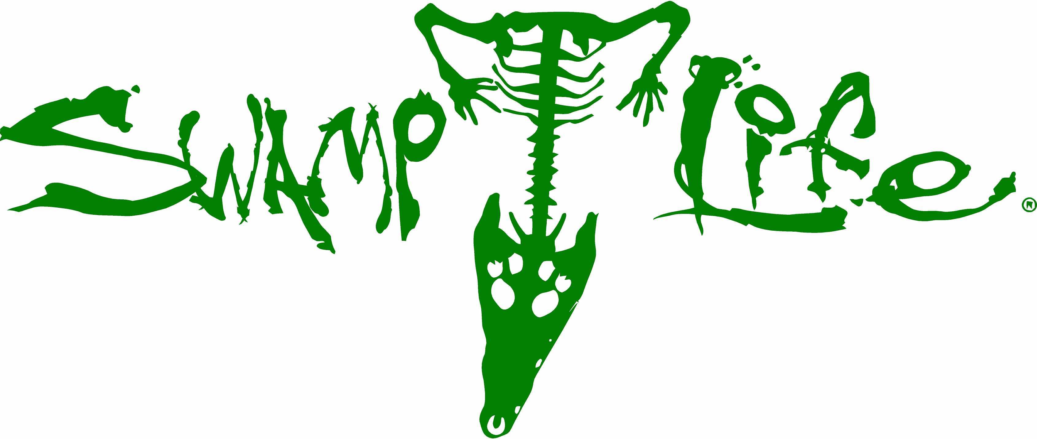 Swamp Life Gator Skeleton Decal 18 Quot On Storenvy