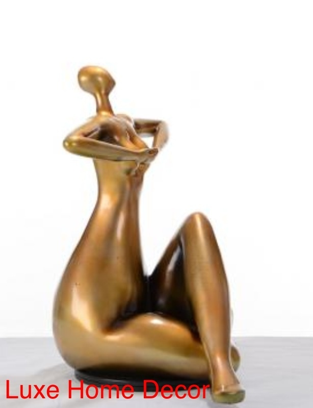 One Woman Sculpture Luxe Home Decor Furnishings