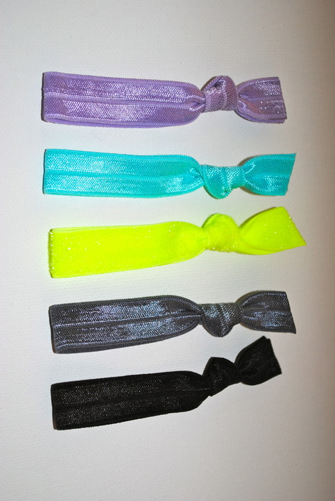 The Kara Set- 5 No-Crease Hair Ties