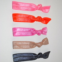 The Tricia Set- 5 No-Crease Elastic Hair Ties