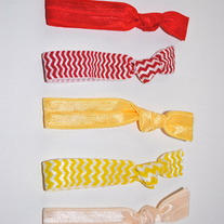 The Libby Set- 5 No-Crease Hair Ties