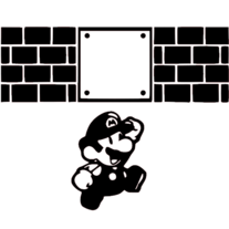 Mario | MacBook Vinyl Decal Sticker