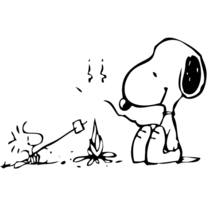 Snoopy - for MacBook | Vinyl Decal Sticker