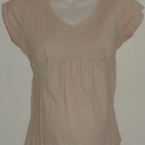 Light Tan Top-Crave Apparel Maternity Size Small